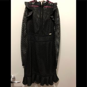 Guess midi black dress New!
